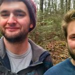 Sam, and his brother Tony, out hiking in Northern Wisconsin.