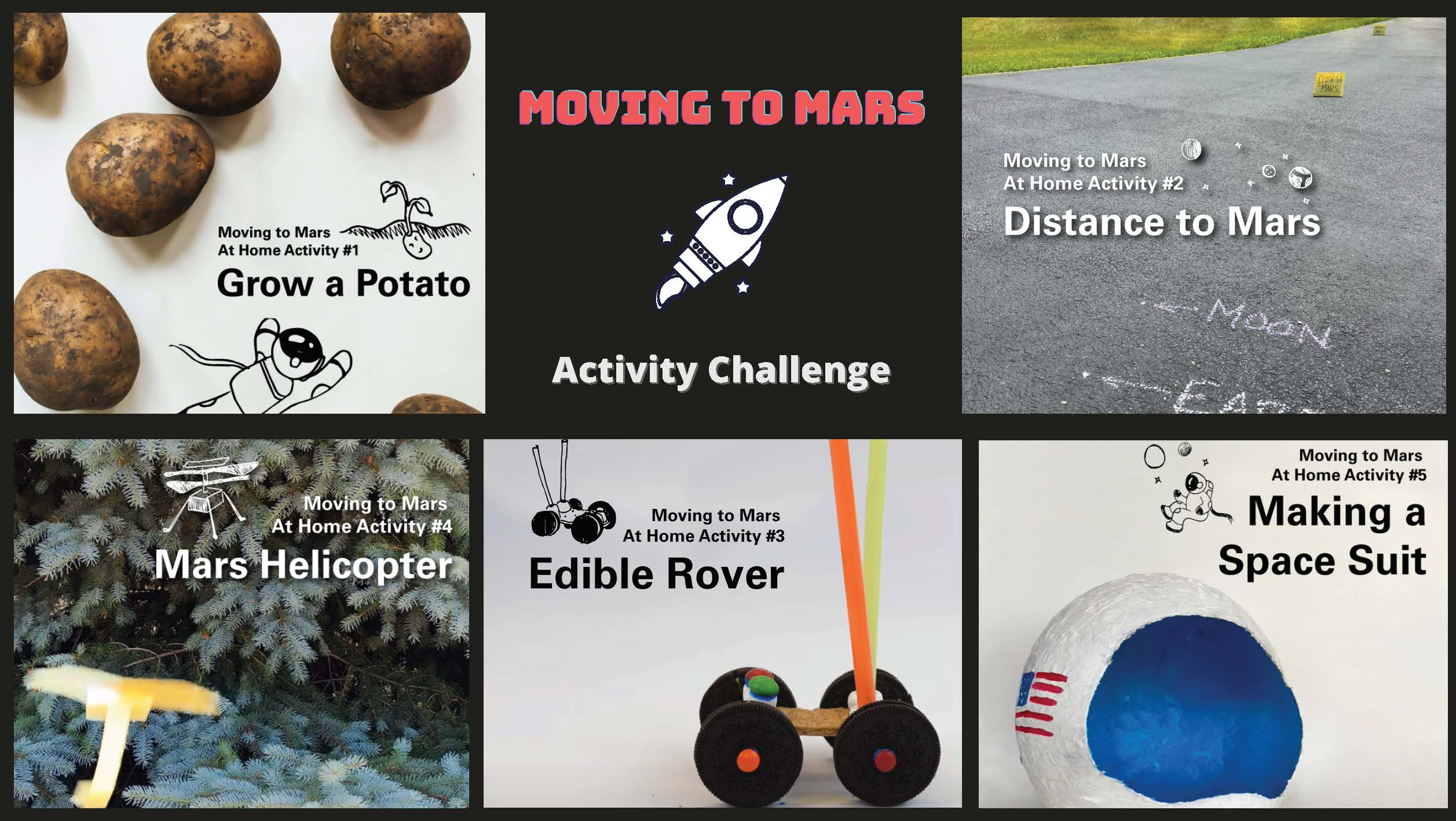 Moving to Mars activity challenge