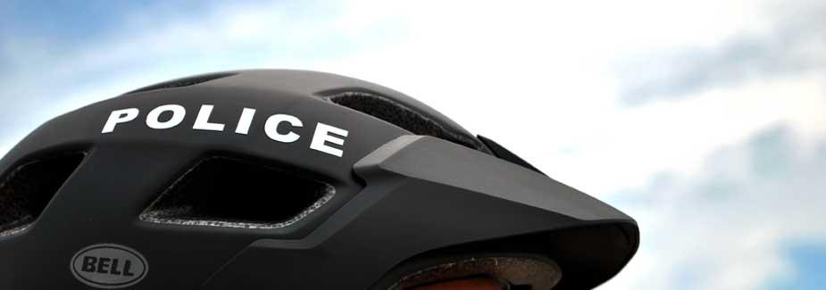 Bike Patrol - UWM PD Police Helmet