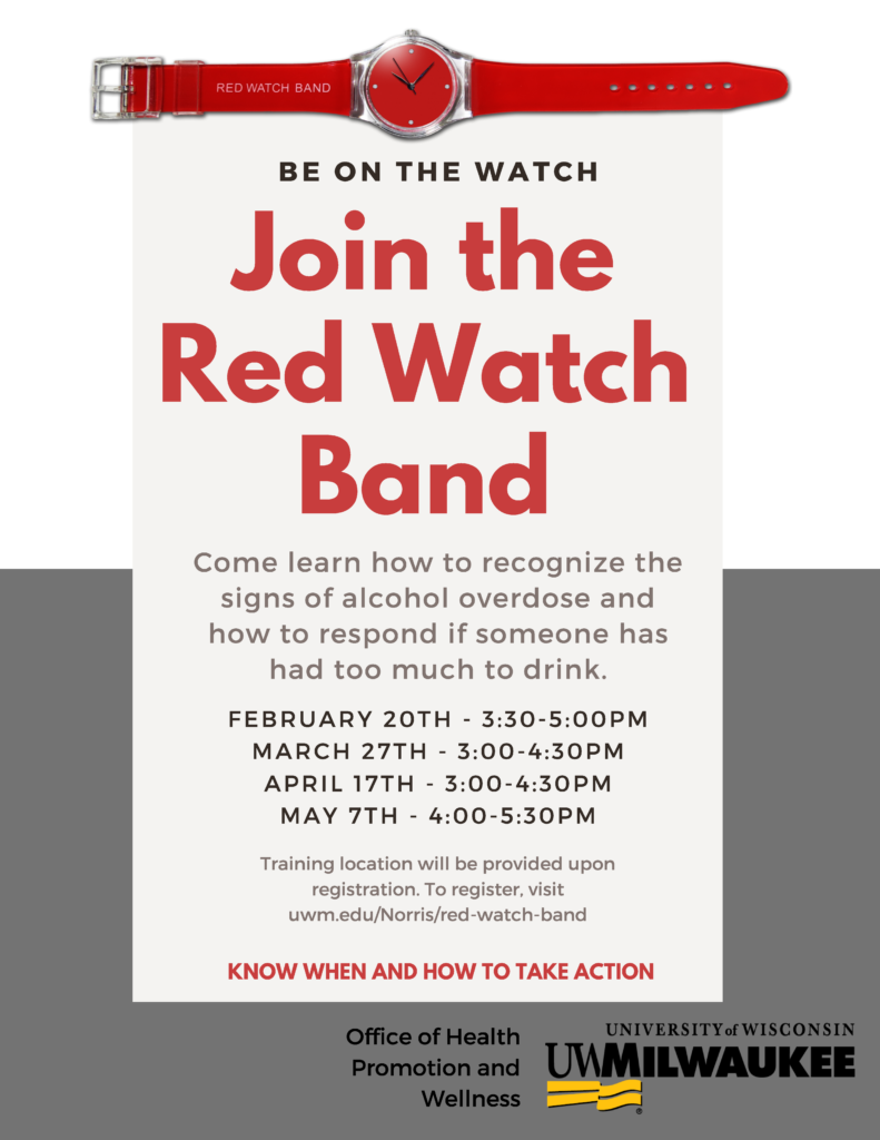 Red Watch Band Flyer