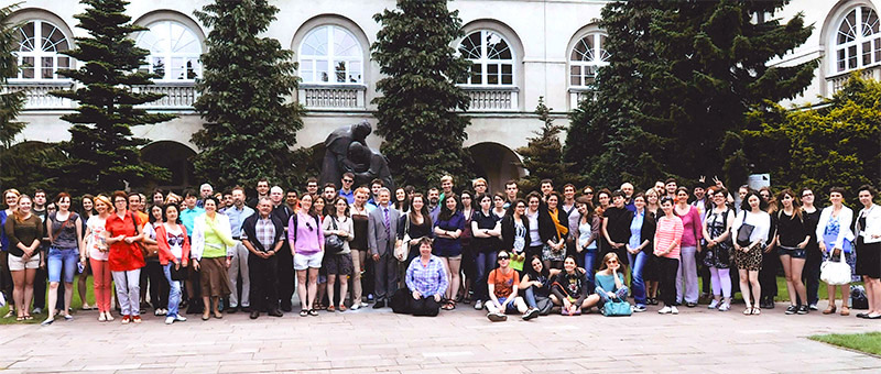 Students Participating in the Polish Study Abroad Program