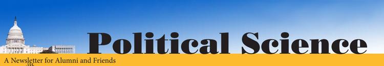 UWM Political Science Newsletter Banner