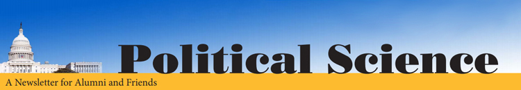 UWM Political Science Newsletter Banner