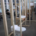 Photo of an accessible bathroom layout implemented in Milwaukee Idea Home