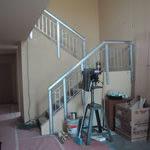 Photo of Milwaukee Idea Home stairway under construction
