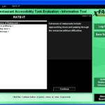 Screenshot of RATE-IT presented in XFACT interface
