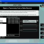 Screenshot of xFACT Utility menu