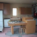 Photo of Milwaukee Idea Home kitchen under construction