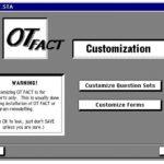 Screenshot of OT FACT customization screen