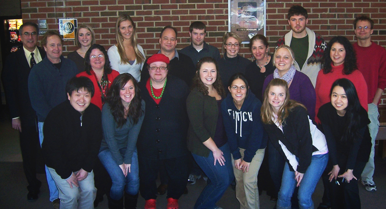 January 2011 Students and Staff