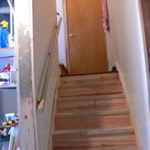 Photo of an accessible stairway in Milwaukee Idea Home