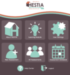Screenshot of HESTIA main screen