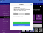 Screenshot of AccessRuler menu