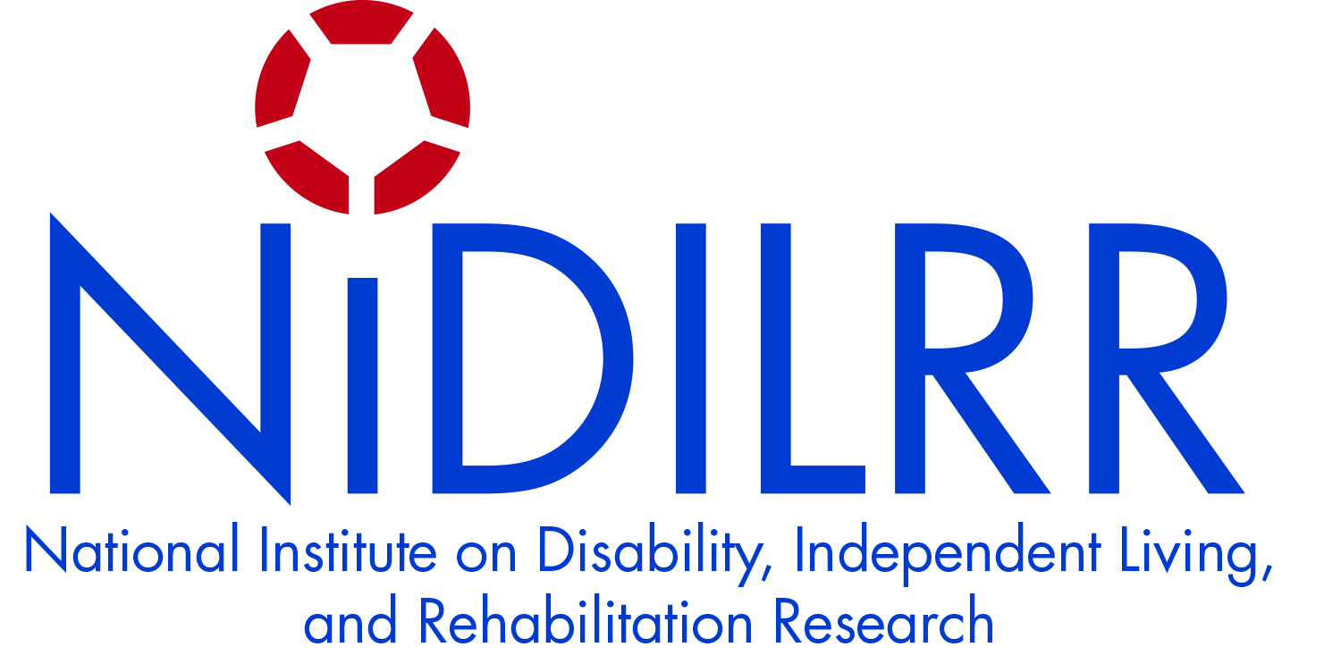 Logo of National Institute on Disability, Independent Living, and Rehabilitation Research (NIDILRR)