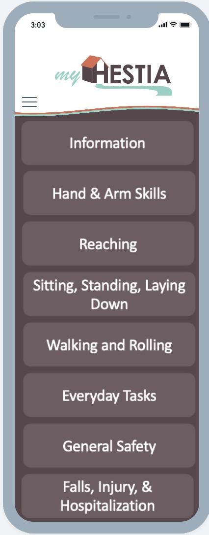 Screenshot of HESTIA Assessment Overview Image