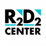 Square R2D2 Center Logo