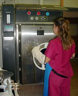 Opening Autoclave