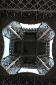 Zero point of the Eiffel Tower, Paris (image credit: Gil Snyder Photography)