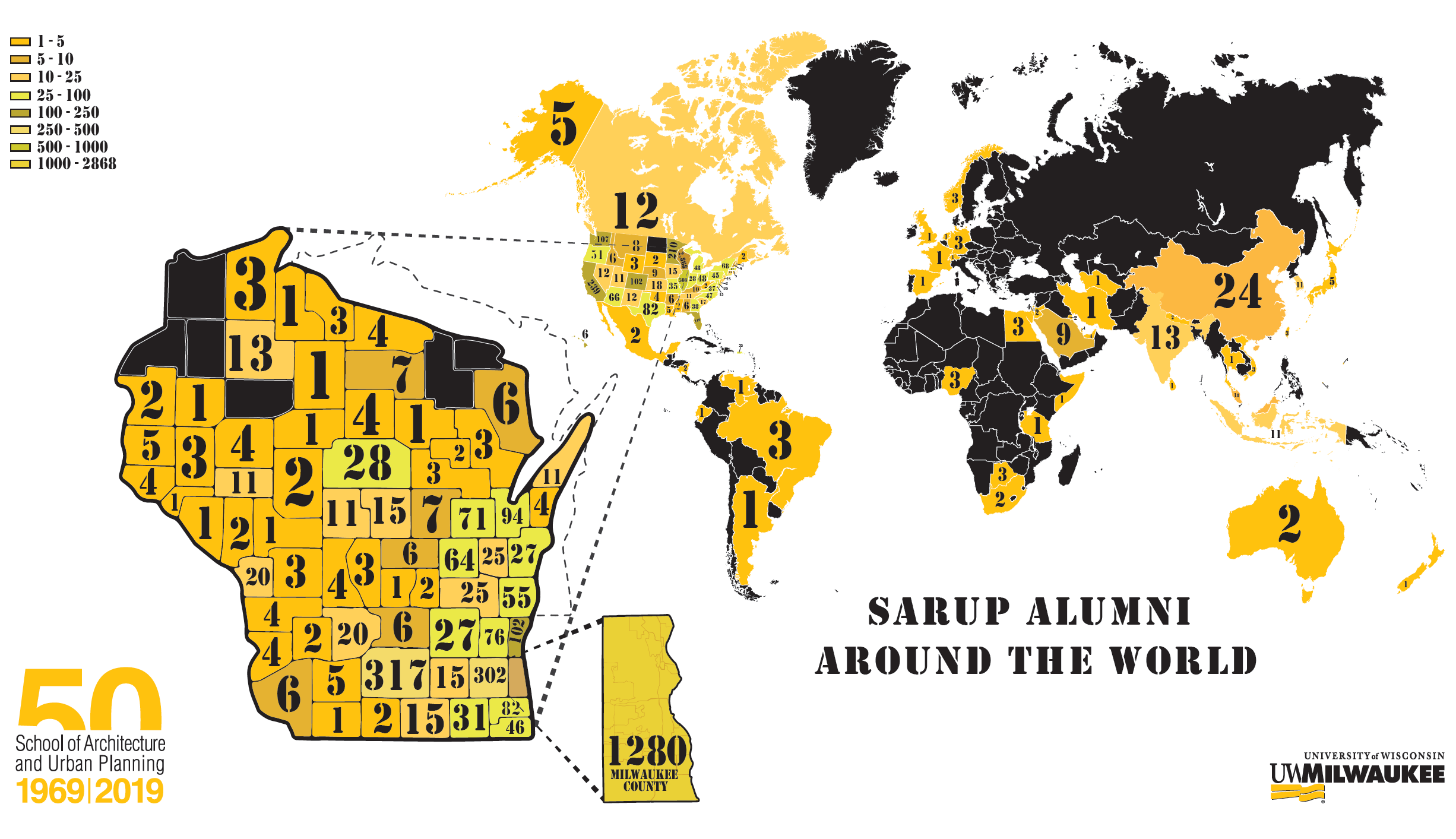 SARUP Alumni Around the World