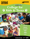 College for Kids and Teens Catalog