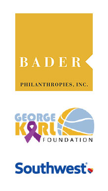Bader Philanthropies, Inc., Brewers Community Foundation, Eppstein Uhen Architects, George Karl Foundation, PNC, and Southwest Airlines