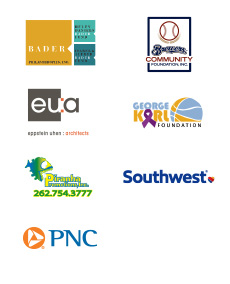 In partnership with Bader Philanthropies, Inc., Brewers Community Foundation, Eppstein Uhen Architects, George Karl Foundation, Piranha Promotions, PNC, and Southwest Airlines