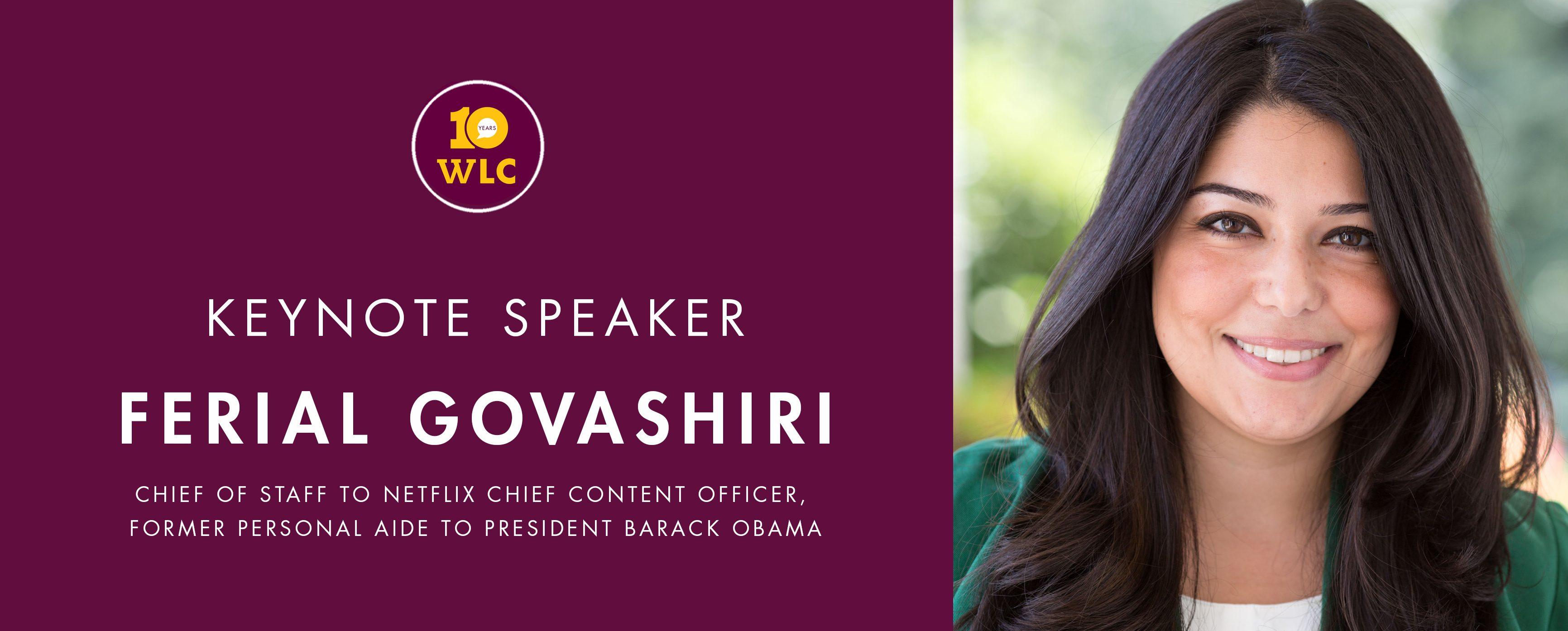 Keynote Speaker Ferial Govashiri