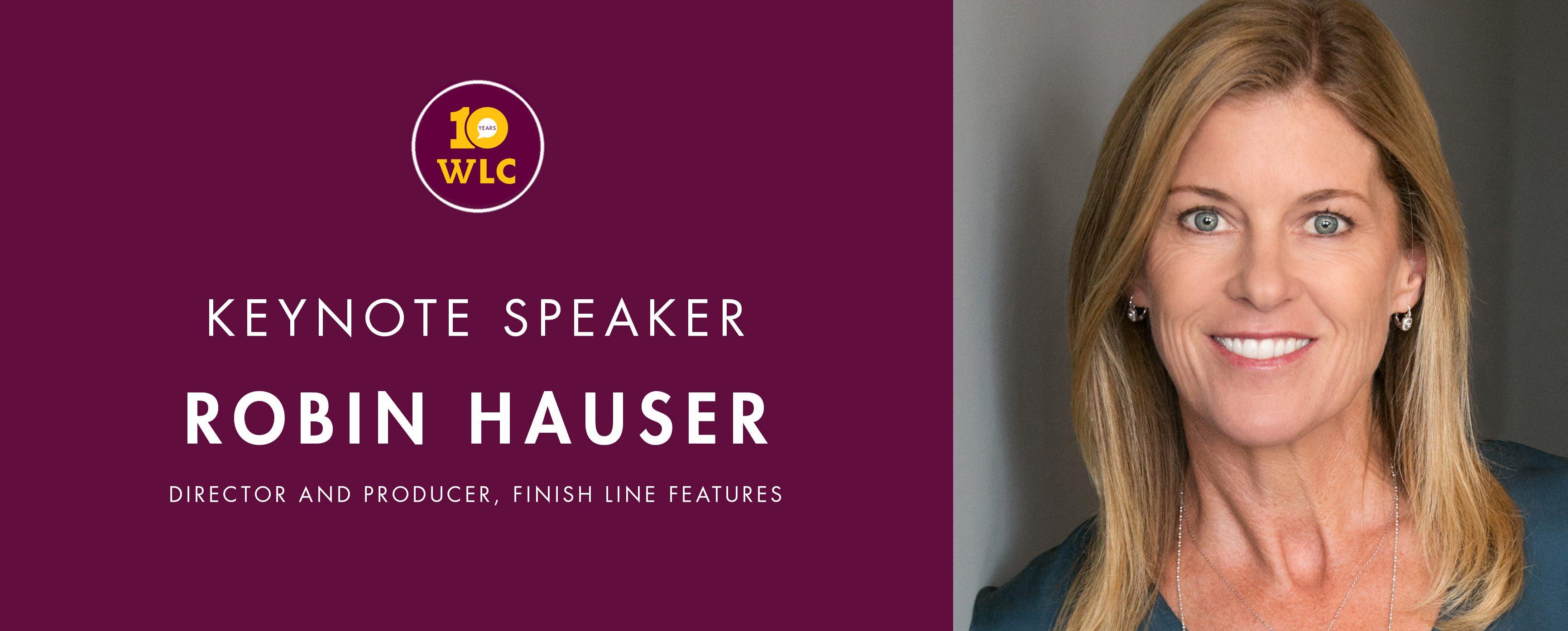 Keynote Speaker Robin Hauser