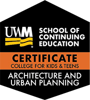 Digital Badge for Architecture and Urban Planning Certificate Track