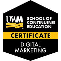 Digital Badge for Digital Marketing Certificate