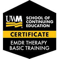 Digital Badge for EMDR Therapy Basic Training Certificate