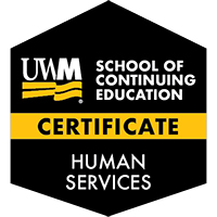 Digital Badge for Professional Certificate in Human Services
