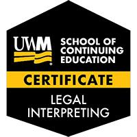 Digital Badge for Legal Interpreting Certificate
