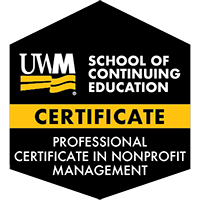 Digital Badge for Professional Certificate in Nonprofit Management