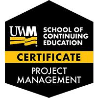 Digital Badge for Project Management Certificate
