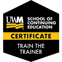 Digital Badge for Train the Trainer Certificate