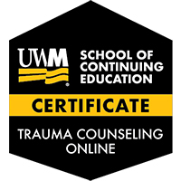 Digital Badge for Trauma Counseling Certificate