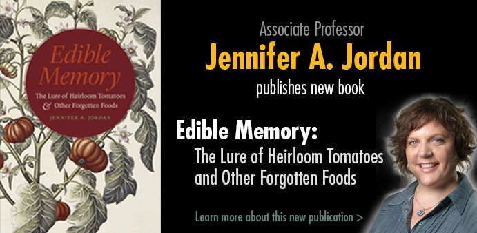 Jennifer Jordan, Edible Memory