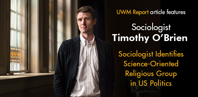 Tim O'Brien in UWM Report