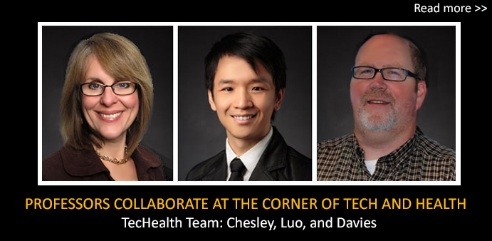 Professors Collaborate at the Corner of Tech and Health