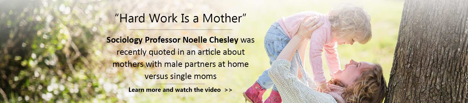 Hard Work is a Mother - Noelle Chesley