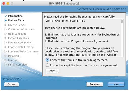 SPSS | UWM Software Asset Management