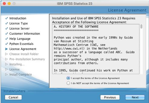 Spss uwm software asset management select i accept the terms in the license agreement and click next platinumwayz