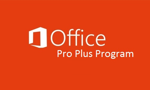 Office Pro Plus Prog