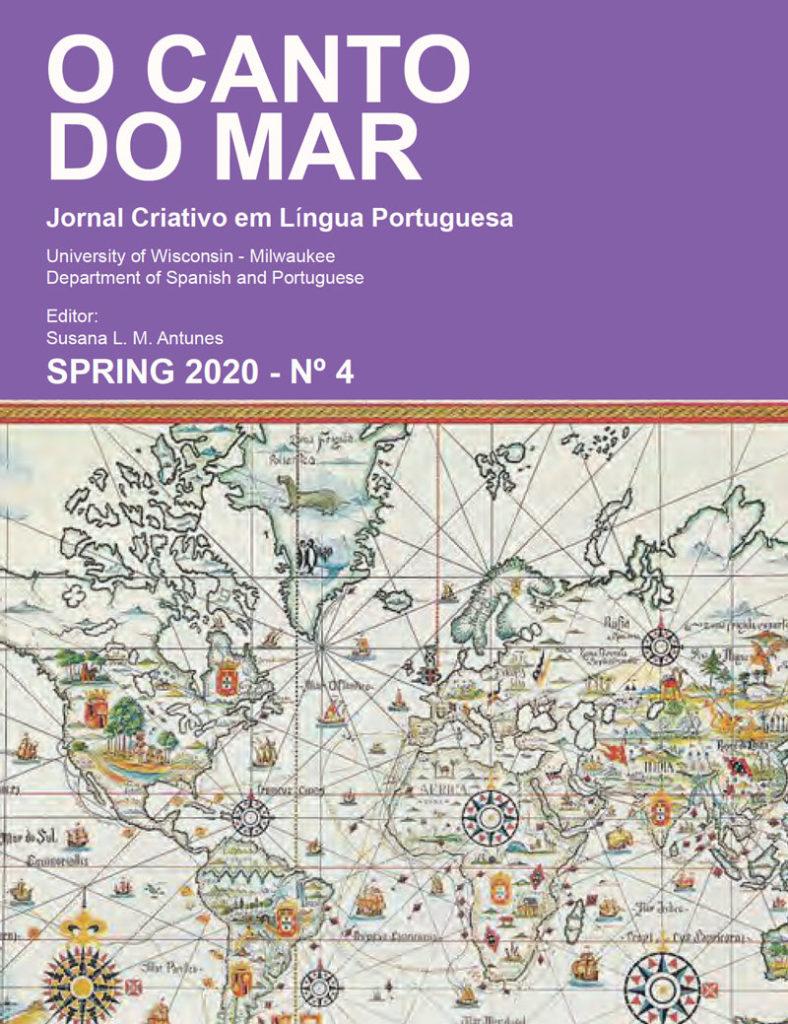 Cover of Spring 2020 O Canto Do Mar Journal