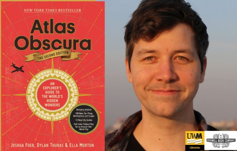 Details For Event 17069 – An Evening with Atlas Obscura's Dylan Thuras