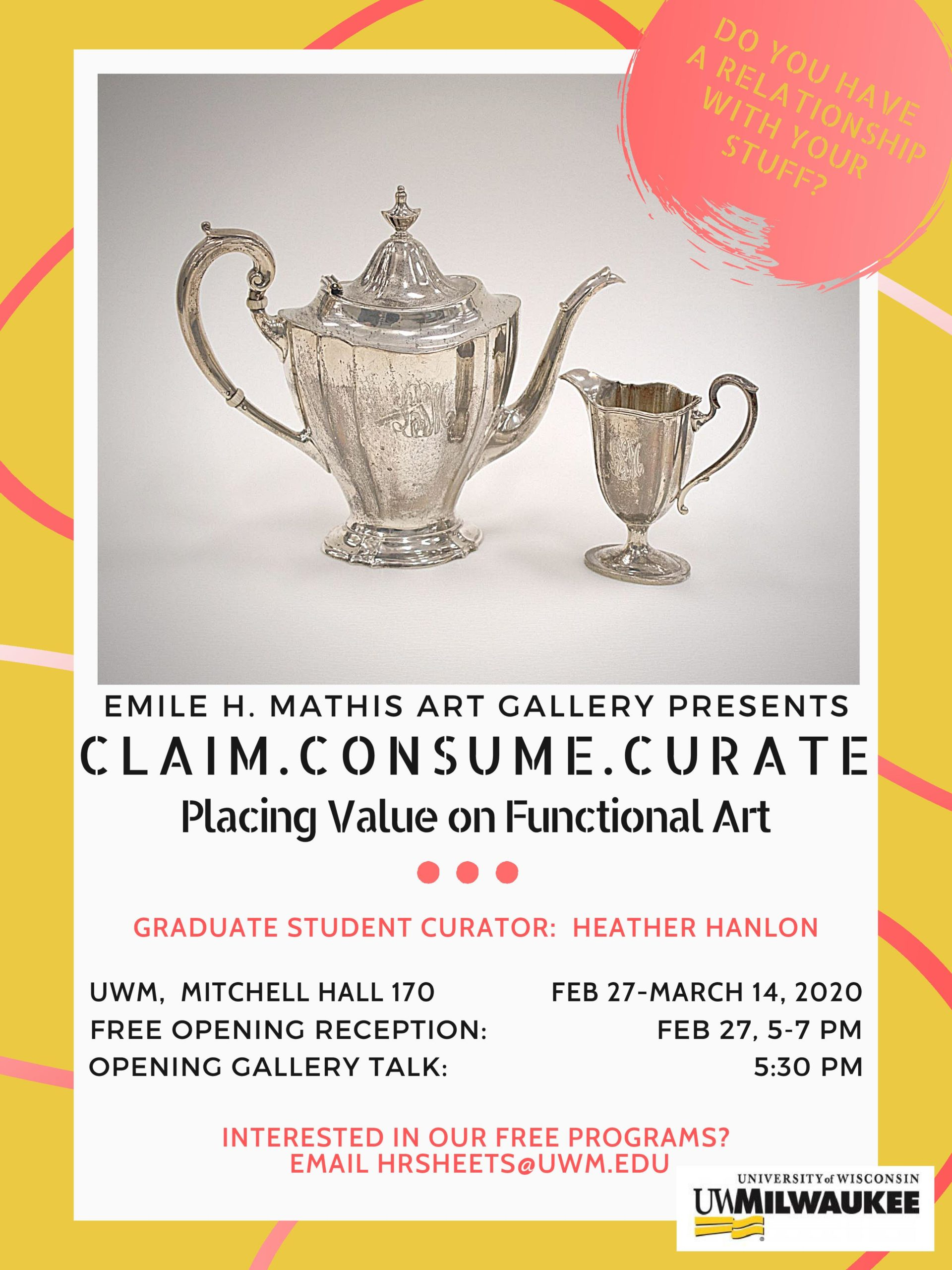 Details For Event 18031 – Claim, Consume, Curate