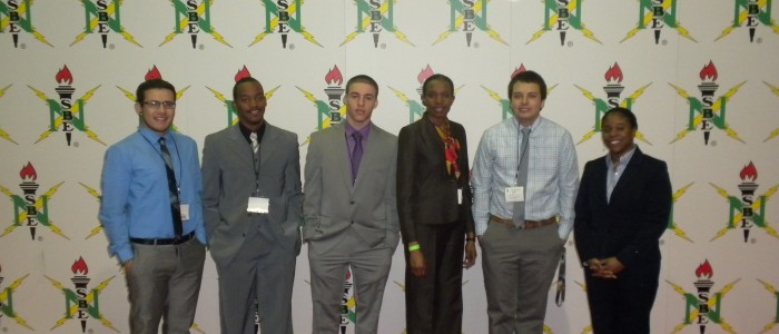 Scholars at the NSBE Conference
