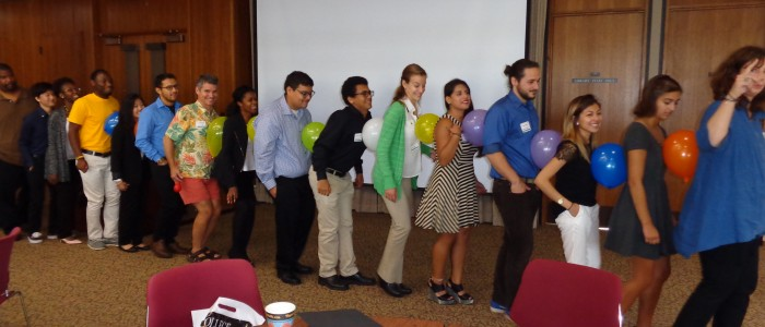 Orientation teambuilding photo