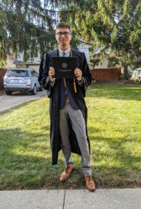 Graduate photo of Nestor